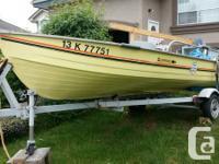 16' Mirrocraft Aluminum boat   - 40 HP 2 stroke Yamaha