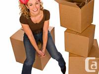 """3 small, 3 large, 10 medium moving boxes condition: """"as"""