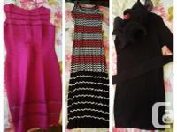 TO BE SOLD AS PACKAGE ONLY 10 Dresses 5 Jackets 1