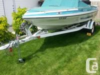 16' Sabre Sport in beautiful condition, with 135hp
