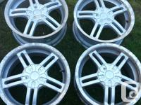 """Rims 16"""" with dual 5 bolt pattern 5x114.3 not sure with"""
