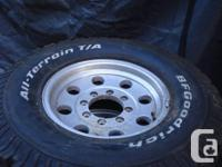 """I have a collection of 4 16"""" wheels for a complete size"""