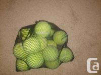 I have 16 new Wilson tennis balls only used once, comes