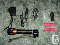 This is a very versatile torch flashlight. Has internal