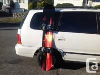 162 cm SNOWBOARD K2 Nemesis with Ride LS series