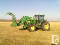 7730 2009 John Deere 7730, Row Crop Tractors, IVT 40K,