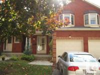 AVAILABLE DECEMBER 1st   Spacious 3 Bedroom, 3.5
