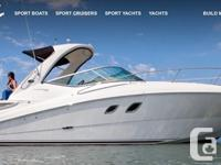 "2009 310 Sea Ray (33'4"" overall lenght) Located at"