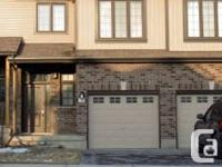 Beautiful, open concept, spacious three bedroom