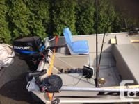 2011 16' LOWE aluminum boat in as new condition 2011 25