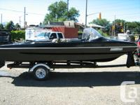 16 ft North Craft Boat with Trailer and 80 hp Mercury