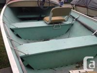 Forsale 1983 16ft aluminum vanguard fishing watercraft,