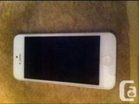 I have a white iphone 5 available for sale. It's 16GB