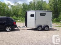 2014 Bockmann Portax horse trailer for sale. Bumper