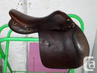 Sadly this older well-loved saddle no longer fits my