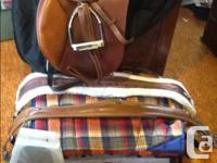 "17"" Bates Caprelli saddle for sale. Air panels and"