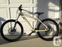 "Norco Competing 17"" in bone white. Purchased at Pacific"