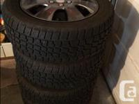 Nearly new Avalanche X-treme winter tires (225/55R17)