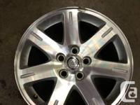 Used Chrysler 300 Wheels   - No Bends in wheels - Small