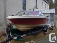Bayliner Mutiny 17.5 FT bowrider in good shape for