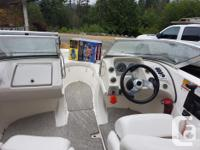 2007 Runabout 8 seat boat mint condition, stored in