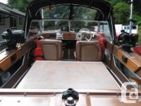 17.5 Hourston inboard outboard 3.8 liter Buick V6 155