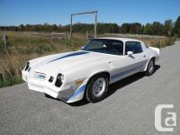 1980 Camaro Z28 An excellent example of Chevrolets 2nd