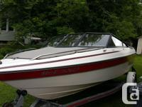 17.5ft Sunbird Bowrider with a 90 evinrude the boat in