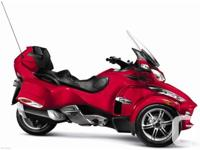 2011 Can-Am Spyder RT-S SM5 comes complete with extra
