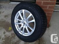 """17"""" alloy wheels (5x114) w/ 235-65-17 winters -- BRAND"""