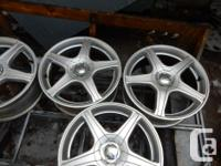17 inch CORE RACING rims for Toyota Rav4 OR Matrix,