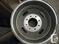 set of four factory wheels off Dodge (or Ford) dually,