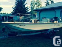 17 foot Montauk Boston Whaler for sale $12,750 1981