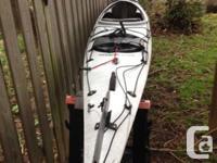 Complete Kayaking pkg, including a 17 foot eclipse