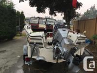 1980'ish 70 evinrude (runs) Road Runner Boat Trailer