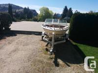 170 hp Merc Cruiser 2 additional props 2 oars 2 life