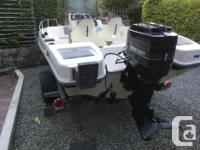 17 ft. Seaswirl Stripper centre console with a 90 hp.