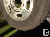 TrailCutter 265/70/R17 Light truck tires mounted on