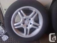 17 inch Mercedes/Vanagon Alloy wheels 235-55-17