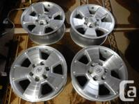 Brand: 17 inch TOYOTA Tacoma RIMS+ TPMS (Hyper silver)