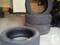 3 Yokohama Geolander P 225 55R 17 95 H tires. 1