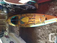 Just in time for Xmas Great condition kayak comes with