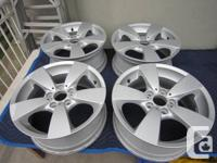 "Available is a collection of 4 17"" initial BMW 5 Spoke"