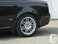 "AUDI RS4 REPLICA MAGS SIZE: 17""x7.5"" BOLT PATTERN:"