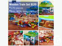 We're selling our wooden train collection & Thomas the