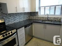 Brand new renovated two bedroom in a 59 unit building,
