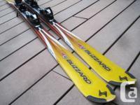 "175cm Blizzard ""Sigma FR 18"" all-mountain twin-tip skis"