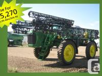 4920 2005 John Deere 4920, Self-Propelled Sprayers,