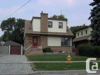 Well Maintained Home on quiet street. Detached Garage