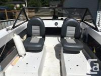 17 ft power boat Comes with a 2004 Suzuki 90hp 4 stroke